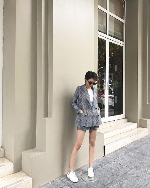 Cách diện menswear của 'trùm vest' Thanh Hằng, Minh Tú đang được mỹ nhân Vbiz ứng d - ảnh 15