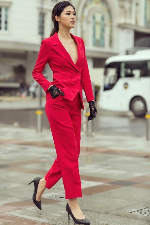 Cách diện menswear của 'trùm vest' Thanh Hằng, Minh Tú đang được mỹ nhân Vbiz ứng d - ảnh 14