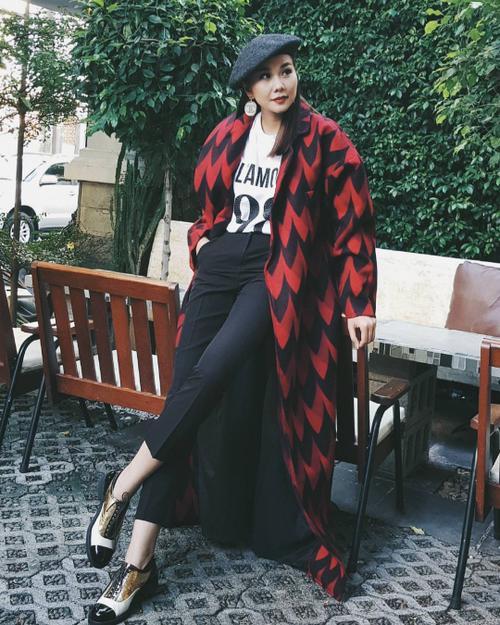 Không chỉ thần tượng, Đồng Ánh Quỳnh còn là bản sao phong cách menswear của Thanh Hằng - ảnh 2