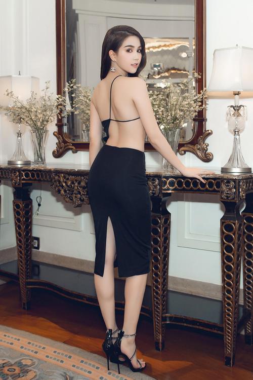 Vuột danh hiệu Vòng eo 56, Ngọc Trinh vẫn là mỹ nữ khoe lưng gợi cảm nhất Vbiz - Ảnh 7.