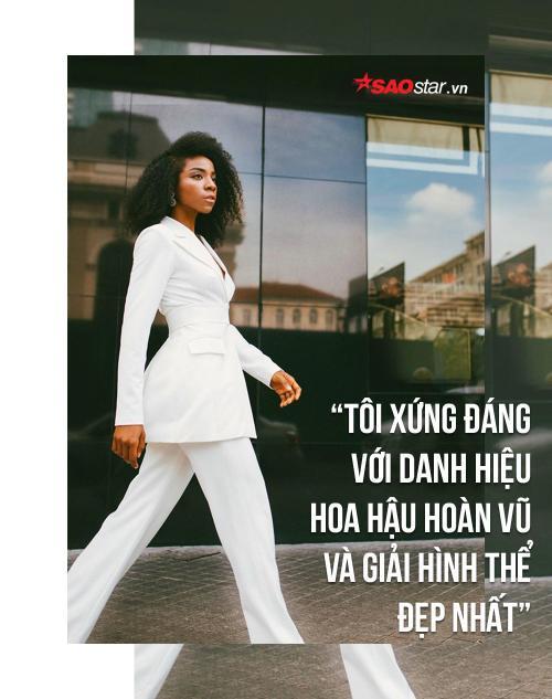 Huỳnh Tiên: 'Không chỉ danh hiệu Hoa hậu Hoàn vũ, tôi còn muốn giành giải hình thể đẹp nhất' - ảnh 4