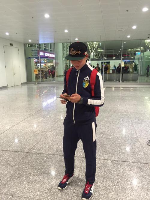 Săm soi smartphone của các cầu thủ U23 Việt Nam