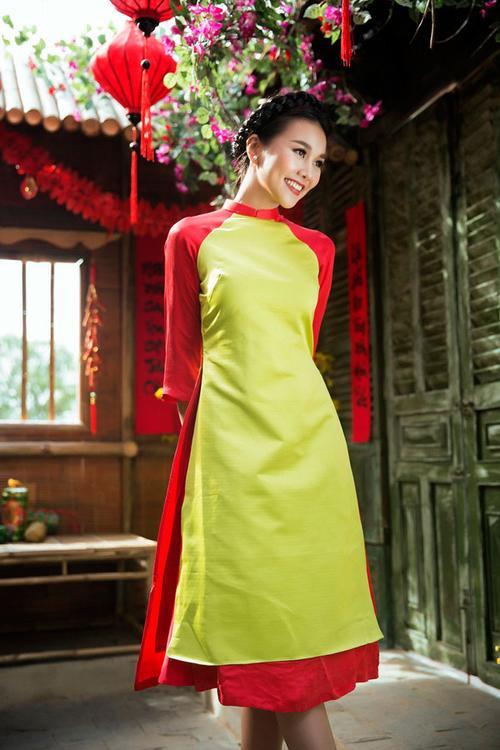 Đơn giản vẫn là đẹp nhất, Tết này chỉ cần diện áo dài một màu thì nguy cơ lẻ bóng chẳng còn! - ảnh 13