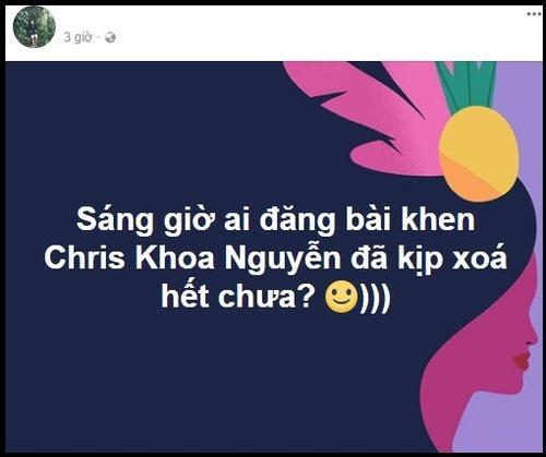 Cư dân mạng nghi ngờ về thành tích của Chris Khoa và đây là phản hồi của anh chàng!