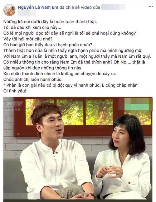 Sau scandal tình ái với Trường Giang, Nam Em đính chính tin đồn
