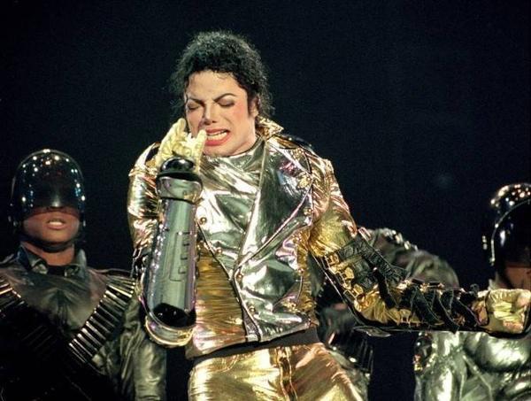 Vua nhạc pop Michael Jackson.