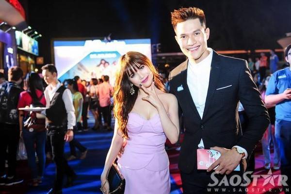 Ca sĩ, VJ Sĩ Thanh và người mẫu, diễn viên Minh Anh.