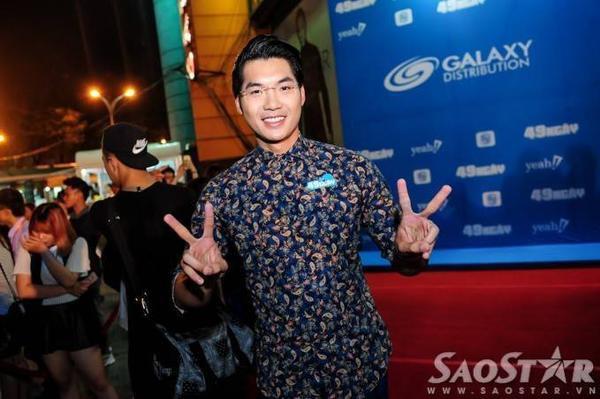 Siêu mẫu - diễn viên Trương Nam Thành.