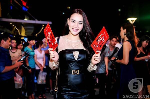 Người mẫu - diễn viên Trang Nhung.