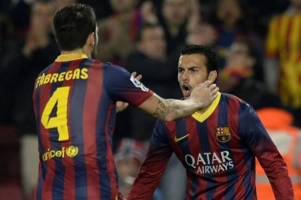 Pedro sẽ lại song hành cùng Cesc trong màu áo Chelsea