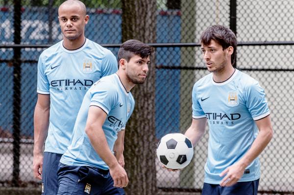 Bộ ba sức mạnh giúp  Manchester City trên đường chinh phục cúp Vàng