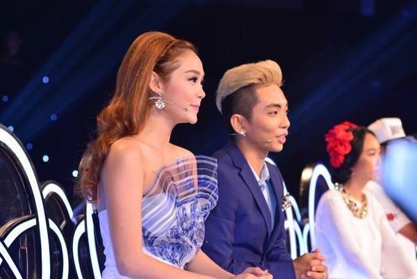 Bộ đôi Minh Hằng - Phan Hiển đã phối hợp rất ăn ý với nhau.