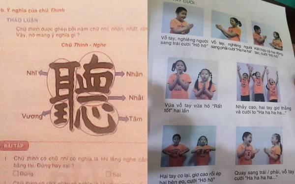 Những bài học khôi hài trong sách kỹ năng mềm bậc tiểu học.