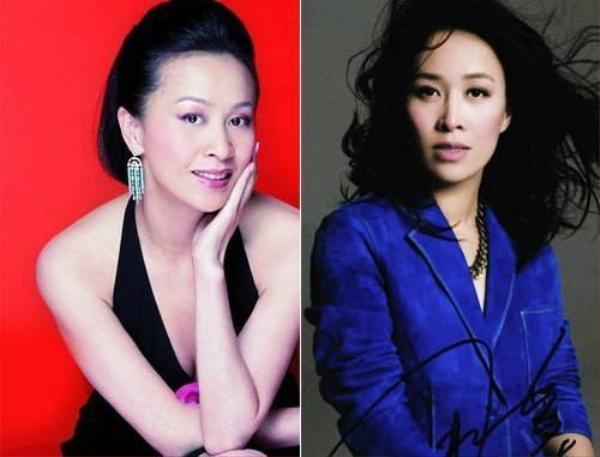 Lưu Gia Linh (trái) và HLV The Voice Trung Quốc - Na Anh sở hữu vẻ đẹp khí chất thanh tú, thông minh.