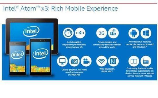 Intel Atom x3 hứa hẹn sẽ đem đến ngày một nhiều hơn thiết bị di động thông minh với chi phí thấp