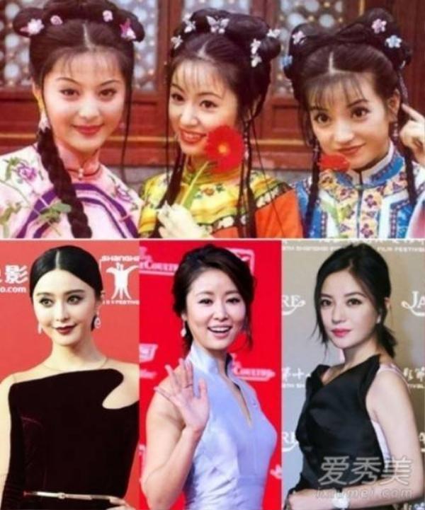 Thêm một hình ảnh long lanh sau 18 năm của Triệu Vy, Phạm Băng Băng, Lâm Tâm Như. Hai hình ảnh cách nhau gần 20 năm nhưng lại cho cảm giác chỉ như ...2 ngày