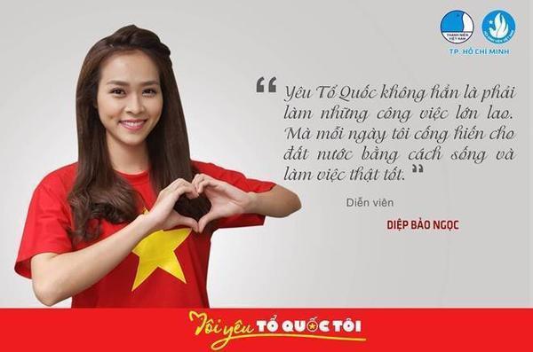 """Để chào đón ngày Tết độc lập của dân tộc, hàng loạt hot teen đã tham gia ngày hội """"Tôi yêu Tổ Quốc tôi"""" do Hội Liên hiệp thanh niên Việt Nam và Hội Sinh viên Việt Nam Thành phố Hồ Chí Minh tổ chức."""