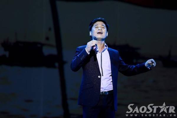 Ca nhạc sĩ Tấn Minh nồng nàn trong Chút thư tình gửi người linh biển.