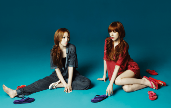 Trưởng nhóm Taeyeon và thành viên Tiffany sắp tung ra đĩa nhạc đánh lẻ đầu tiên.
