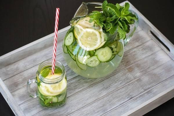 Loại thức uống này còn được gọi bằng cái tên là nước detox.