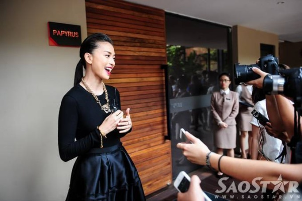 Ngô Thanh Vân liên tục nhận được sự quan tâm từ giới truyền thông.