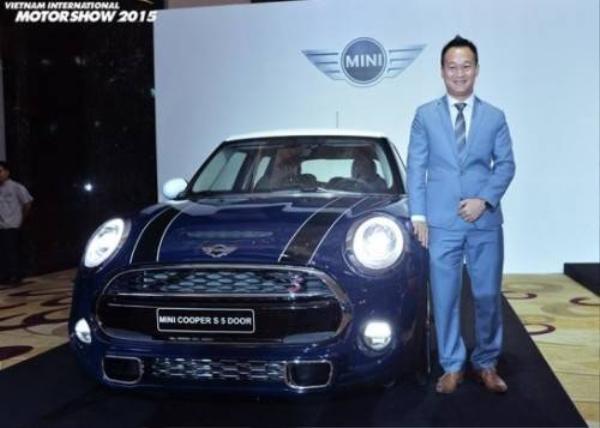 Một mẫu xe MINI Cooper sẽ xuất hiện tại triển lãm.