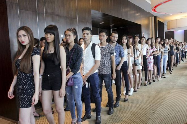 saostar - Vietnam Fashion Week - model - casting (10)