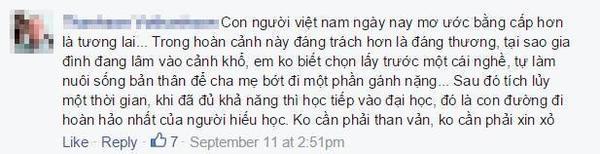 300 ngan dong hoc phi - Cmt khong hoc dai hoc
