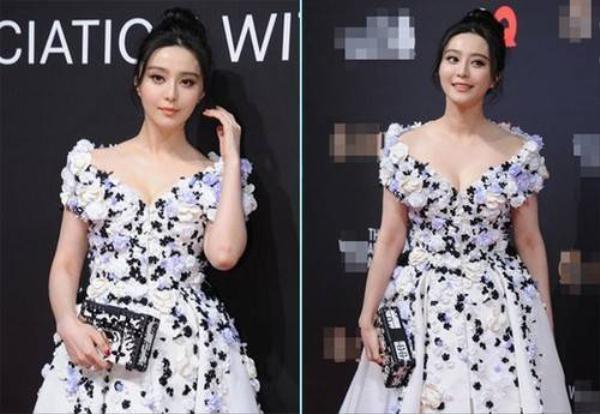 Phạm Băng Băng nổi bật tại sự kiện do GQ tổ chức. Cô không đi cùng bạn trai Lý Thần nhưng tiết lộ là người chủ động chọn áo vest cho anh.