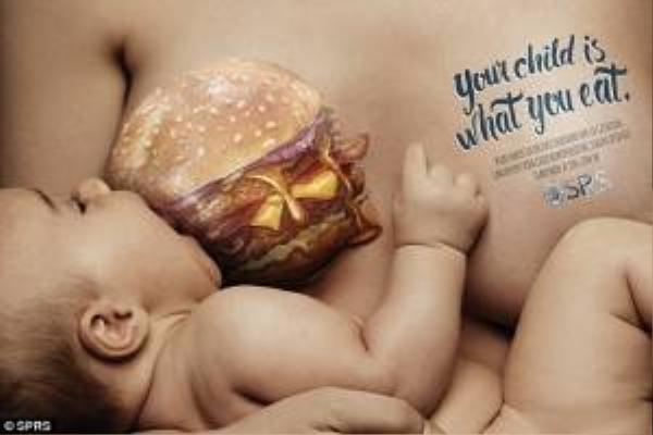 Đồ ăn nhanh là giảm hệ miễn dịch của trẻ.