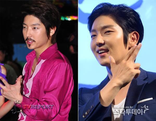 Râu kẽm và chỏm râu ở cằm khiến hình ảnh mỹ nam đẹp hơn hoa của Lee Jun Ki bị phá vỡ.