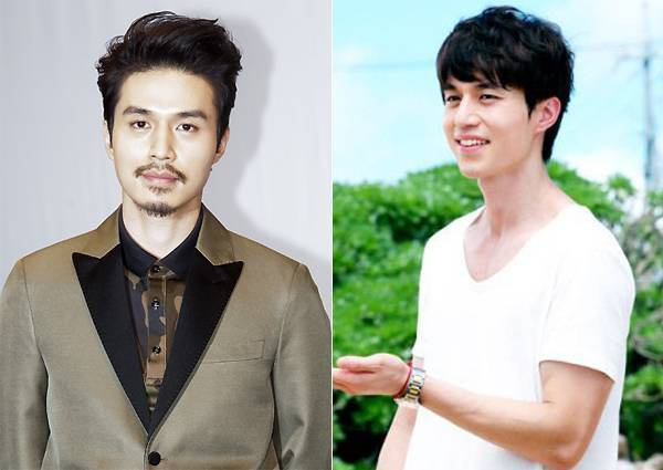 Với hàng râu kẽm và 2 chỏm râu, Lee Dong Wook từng bị nhận xét trông … đểu cáng với hình ảnh mới này.