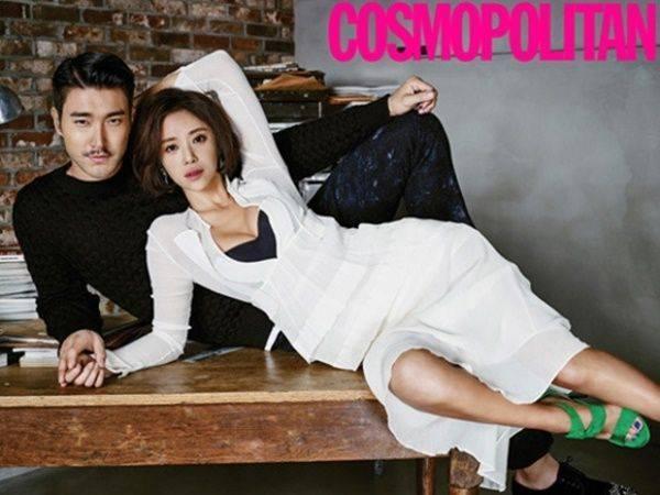Kiều nữ Gia đình là số 1 Hwang Jung Eum khoe ngực gợi cảm bên anh chàng Siwon của nhóm Super Junior. Hai diễn viên đang hợp tác trong bộ phim mới She Was Pretty.