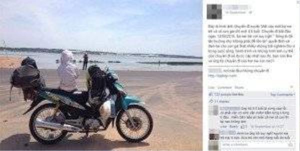 Câu chuyện xuyên Việt của bà mẹ và con nhỏ đang là tâm điểm của cộng đồng mạng - (Ảnh chụp màn hình)