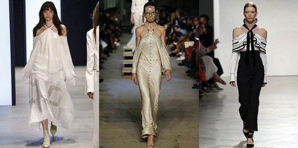 Các mẫu thiết kế của Derek Lam, Givenchy và Proenza Schouler.