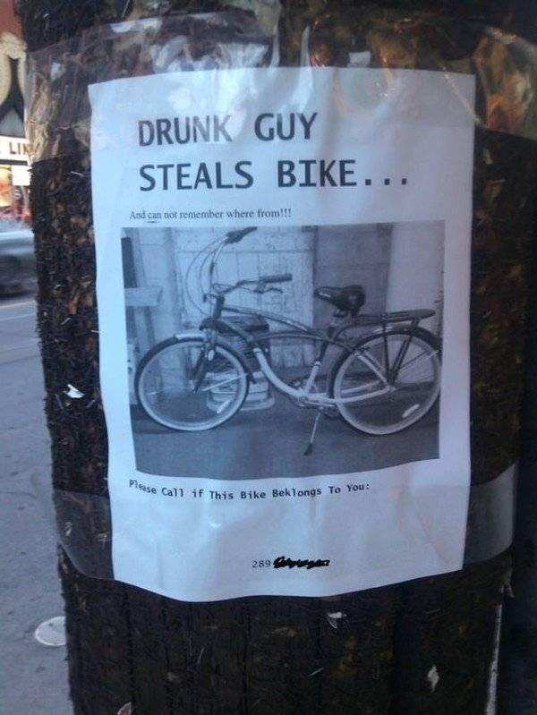 Một tên trộm…mất trí nhớ đăng tin tìm chủ xe.