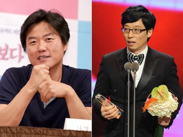 Nhà sản xuất truyền hình Na Young Suk và MC Yoo Jae Suk nổi tiếng với những chương trình ăn khách nhất màn ảnh nhỏ Hàn Quốc.