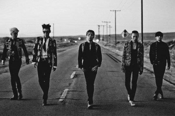 Big Bang là đại diện duy nhất của Kpop trong top 10 quyền lực.