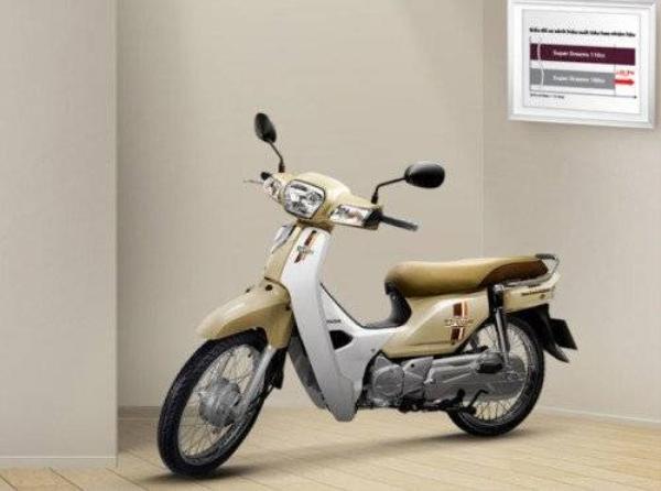 Màu sắc mới, trẻ trung hơn của Honda Dream.