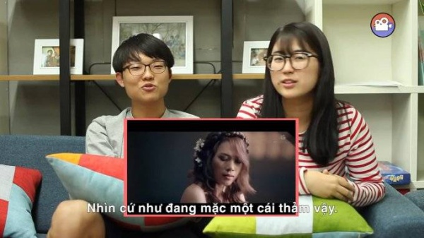 Korean's reaction to Mỹ Tâm - Như Một Giấc Mơ (LIKE A DREAM) M_V [KOREAN VILLAGE] - YouTube (720p).00_00_45_16.Still001