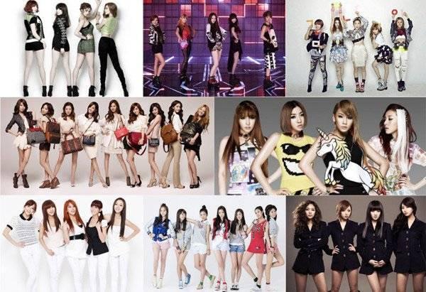 Các girl group Kpop