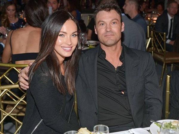Vợ chồng Megan Fox - Brian Austin Green  khi chưa chia tay.