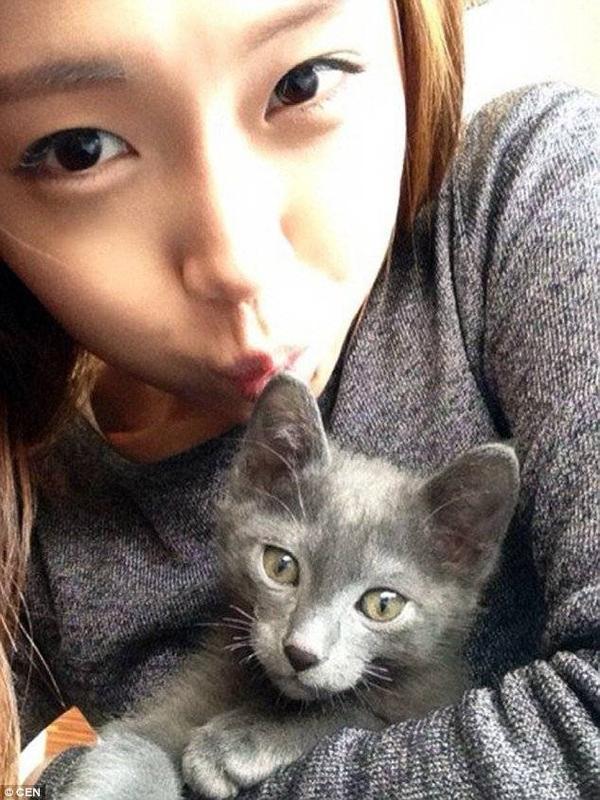 """Trước khi trở thành """"nữ cảnh sát xinh đẹp nhất thế giới"""", Kim Miso từng dự thi Miss Maxim Hàn Quốc vào năm 2014."""