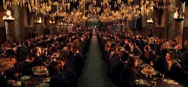 Great Hall - Harry Potter (6)