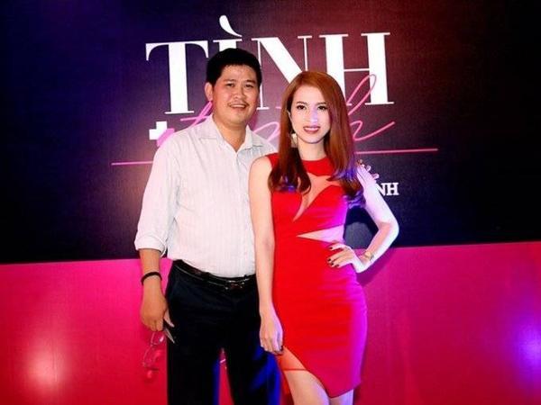 Phước Sang trong buổi ra mắt phim 'Tình + tình' - dự án do hãng phim của anh đầu tư hồi giữa năm 2015. Anh thừa nhận tài sản bị mất trắng do kinh doanh thua lỗ đến 70% nhưng không đến nỗi phải ở nhà thuê - Ảnh: Huy Nguyễn
