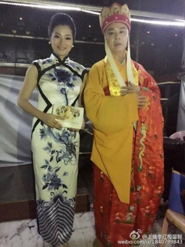 MC Lý Hồng Mai và Đường Tăng.