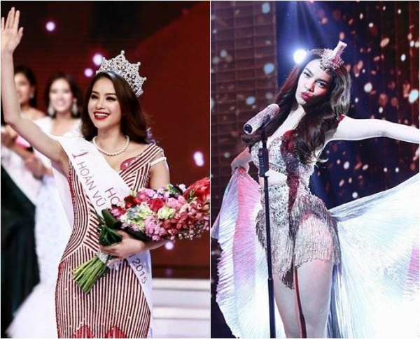 Hoa hậu Phạm Hương và Hà Hồ có nhiều điểm giống nhau về ngoại hình.
