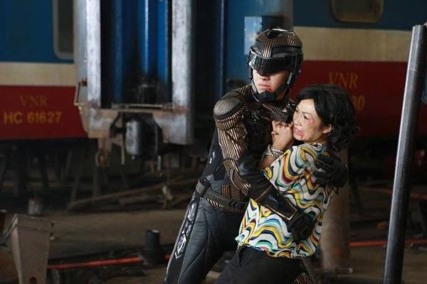 """Siêu nhân X là bộ phim đánh dấu lần đầu đóng chính của """"chàng Bắp""""."""