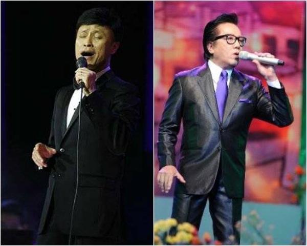 Tuấn Ngọc và Elvis Phương.