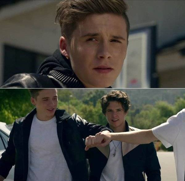 Brooklyn Beckham trong MV Wake Up của nhóm The Vamps.